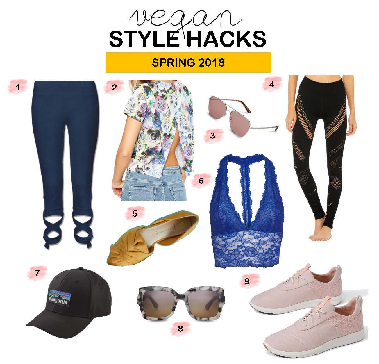 Vegan Cruelty Free Fashion Hacks for Spring 2018